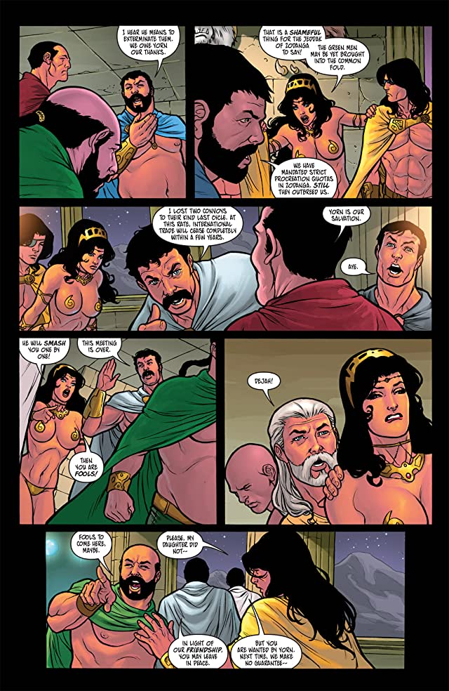 click for super-sized previews of Warlord of Mars: Dejah Thoris #4