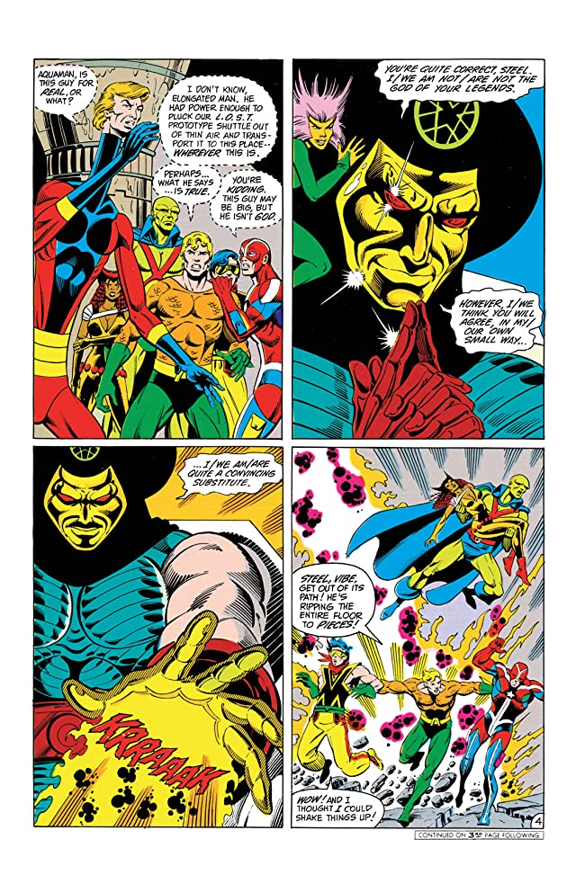 click for super-sized previews of Justice League of America (1960-1987) #236