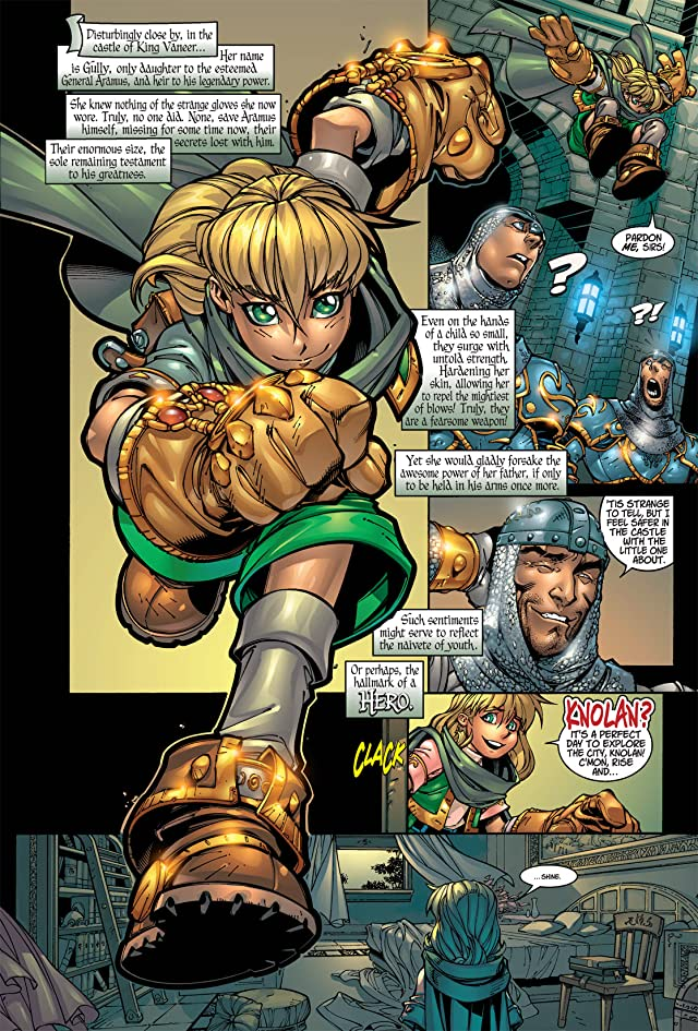 click for super-sized previews of Battle Chasers #7