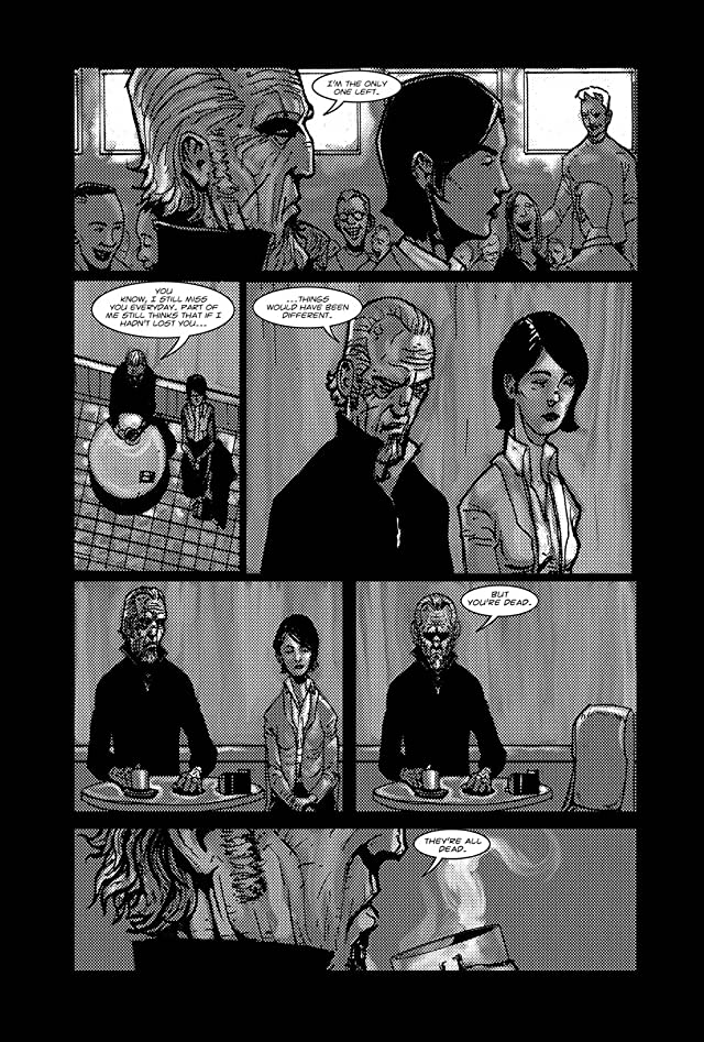 click for super-sized previews of American Terror Vol. 1: Confession of a Human Smart Bomb