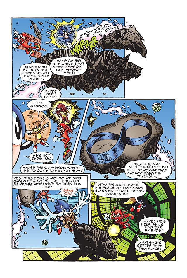click for super-sized previews of Sonic the Hedgehog #56