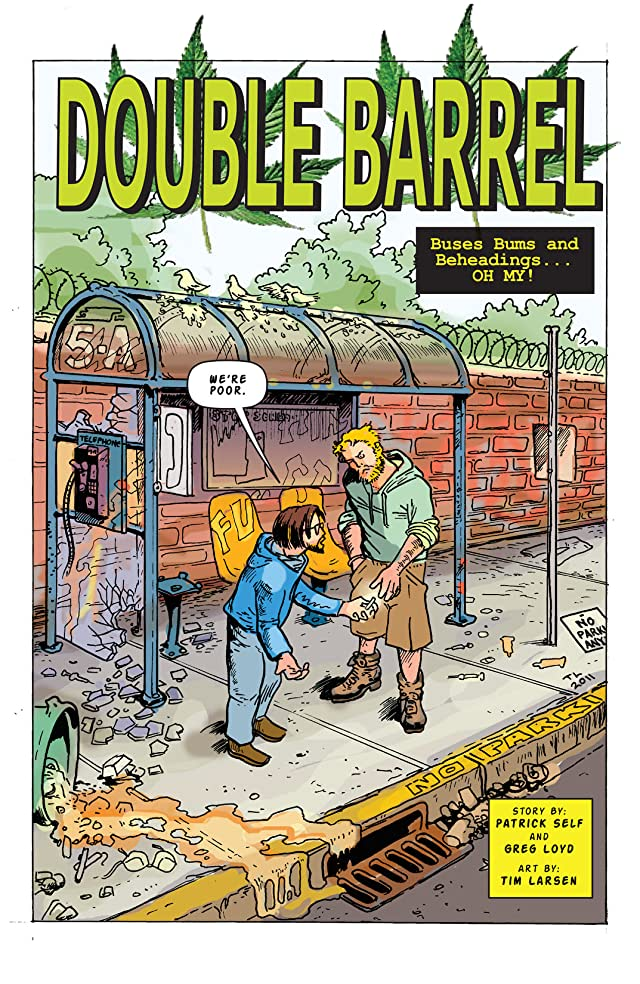 Chupa Comics Presents: Double Barrel #1