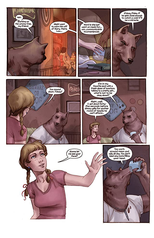 click for super-sized previews of Bad Dog Vol. 1: In the Land of Milk and Honey