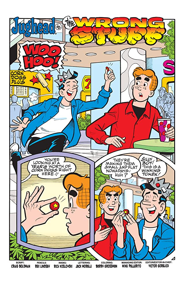 click for super-sized previews of Jughead #188
