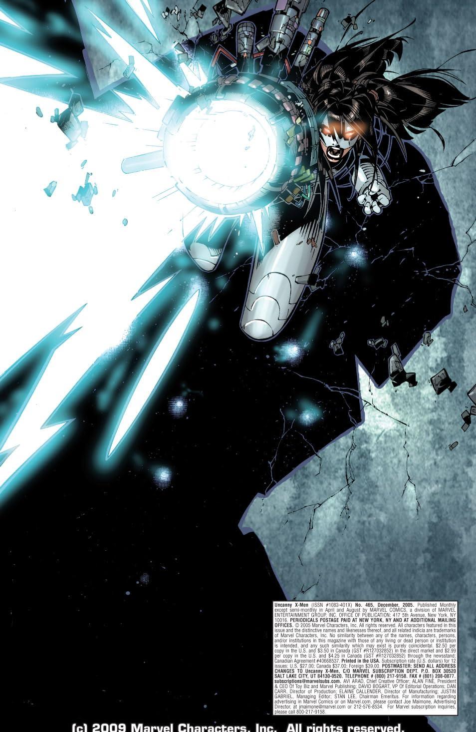 Uncanny X-Men (1963-2011) #465