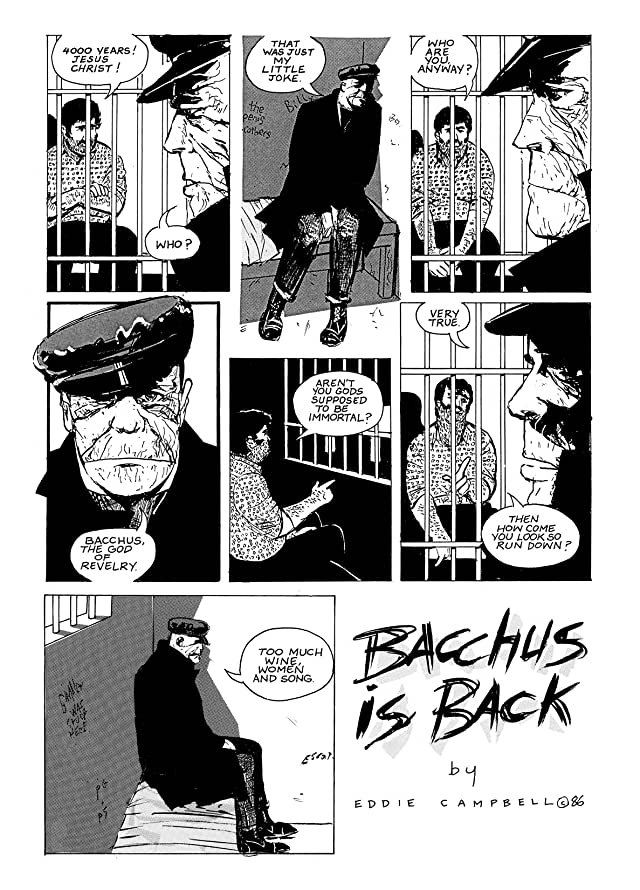 click for super-sized previews of Bacchus Vol. 1