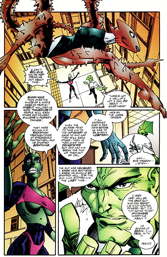 click for super-sized previews of Savage Dragon #60