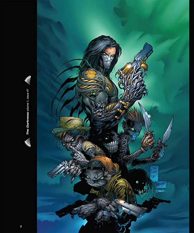 click for super-sized previews of The Art of the Darkness!