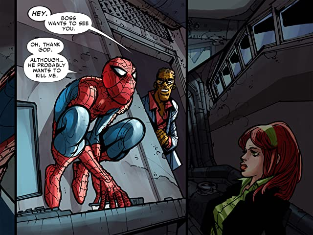 click for super-sized previews of Amazing Spider-Man: Who Am I? Infinite Digital Comic #7