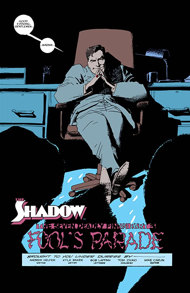 click for super-sized previews of The Shadow Master Series #10