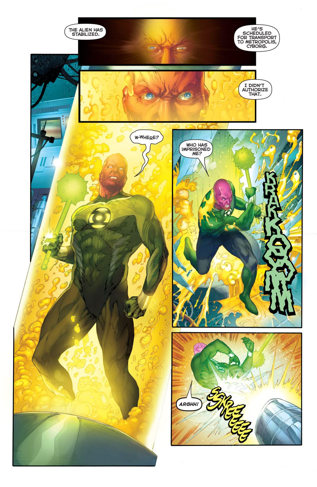 Flashpoint: Abin Sur - The Green Lantern #2 (of 3)