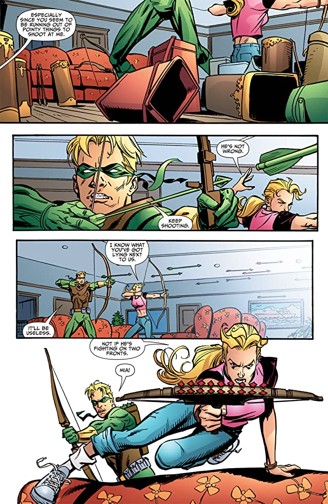 click for super-sized previews of Green Arrow (2001-2007) #57