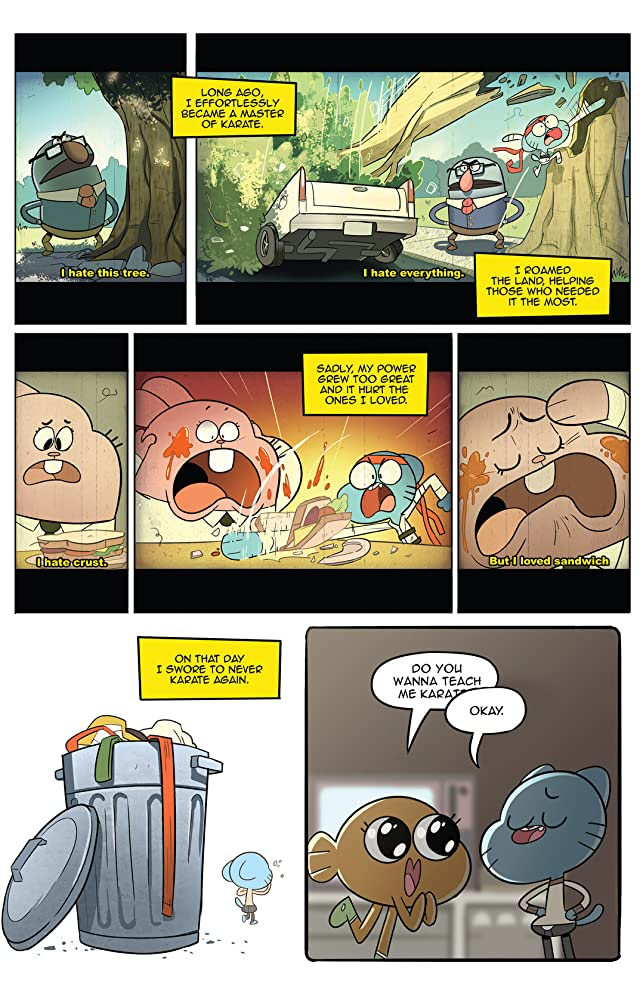 click for super-sized previews of The Amazing World of Gumball #2