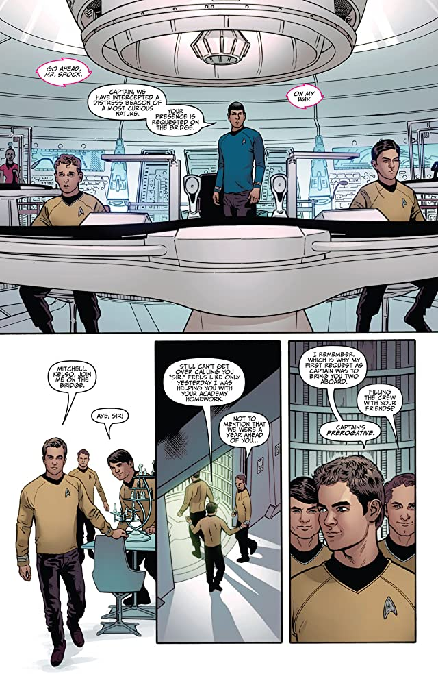click for super-sized previews of Star Trek (2011-) Vol. 1
