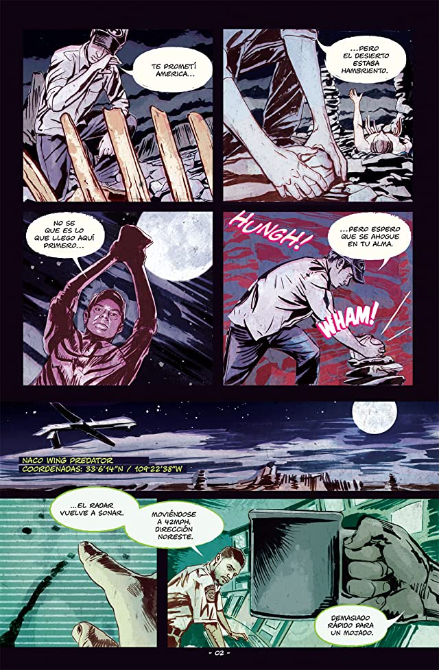 click for super-sized previews of Feeding Ground (En Espanol) #2 (of 6)