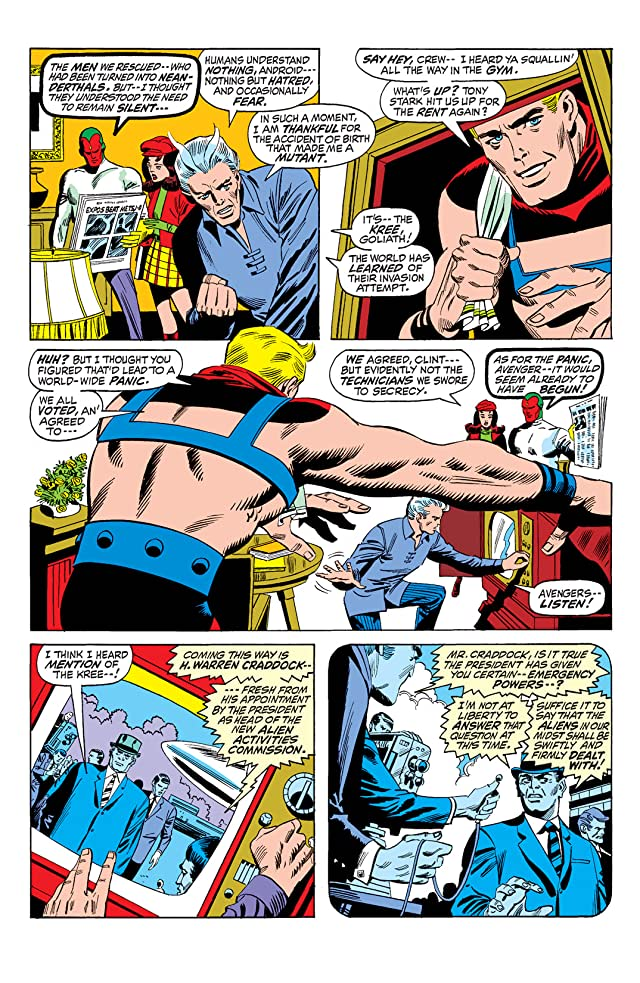 click for super-sized previews of Avengers (1963-1996) #92