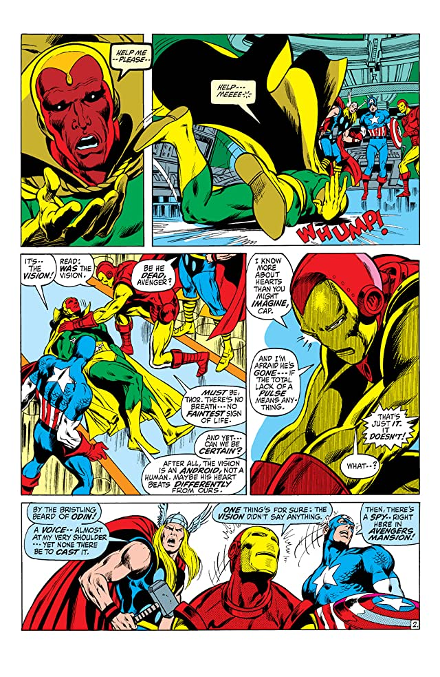 click for super-sized previews of Avengers (1963-1996) #93