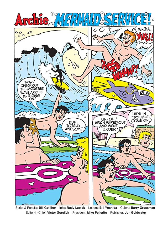 click for super-sized previews of Archie's Funhouse Comics Digest #7