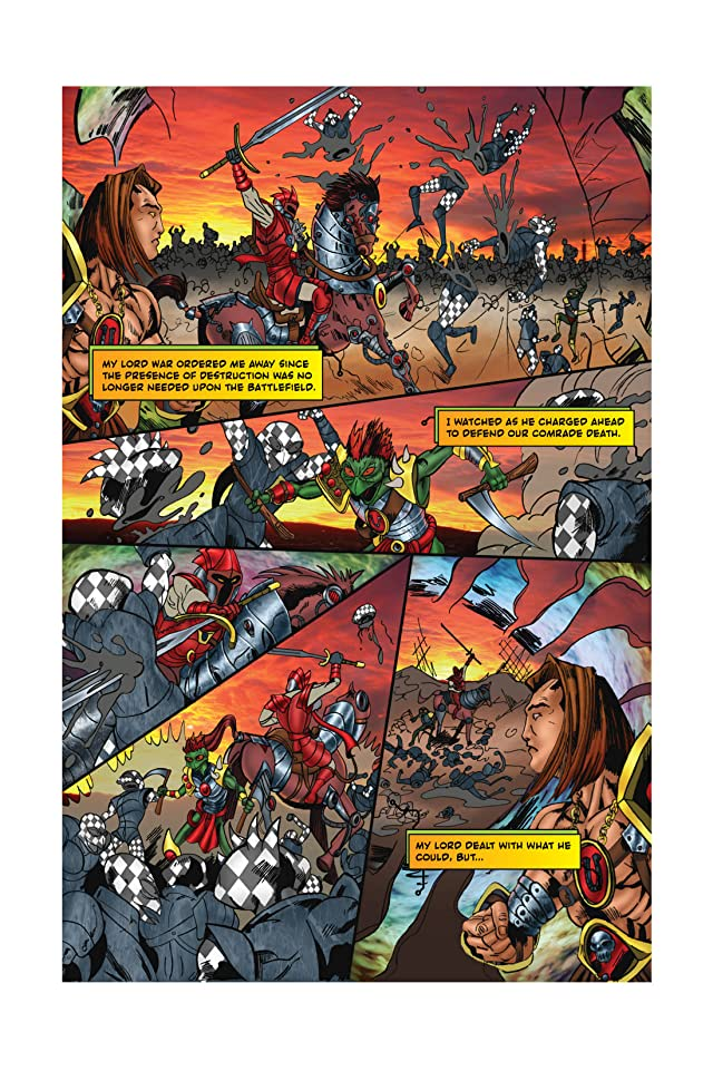 click for super-sized previews of Horsemen #1