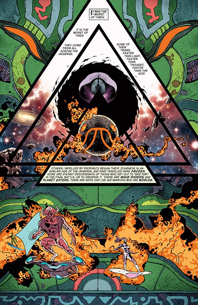 click for super-sized previews of The Sandman: Overture (2013-) #3 (of 6)
