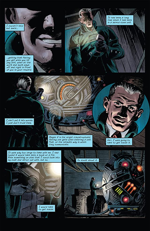 click for super-sized previews of The Overman #1 (of 5)