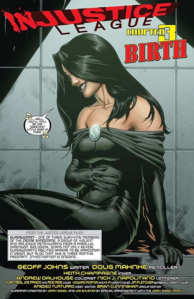 click for super-sized previews of Justice League (2011-) #32