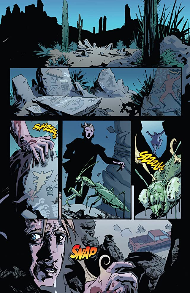 click for super-sized previews of Afflicted #1 (of 4)