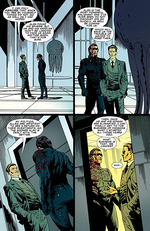 click for super-sized previews of Malignant Man #4 (of 4)