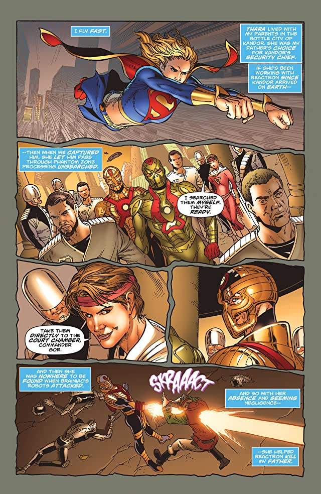 click for super-sized previews of Supergirl (2005-2011) #40