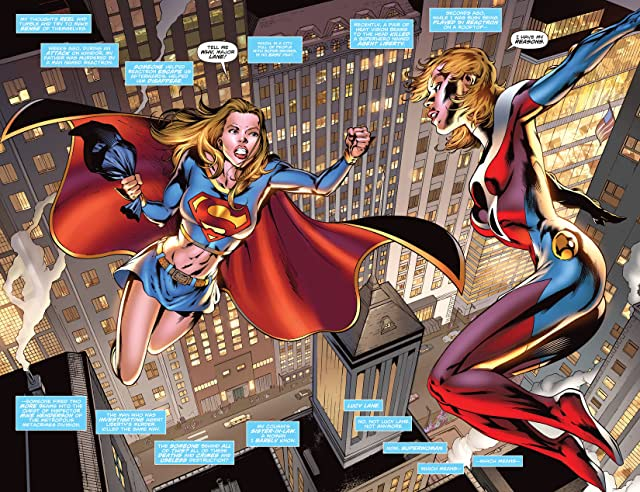 click for super-sized previews of Supergirl (2005-2011) #41