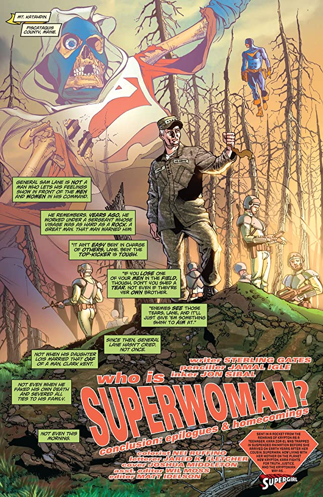 click for super-sized previews of Supergirl (2005-2011) #42