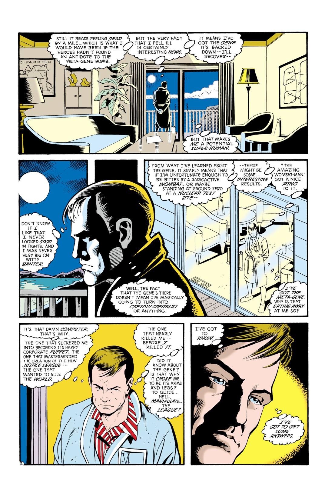 Justice League International (1987-1989) #24