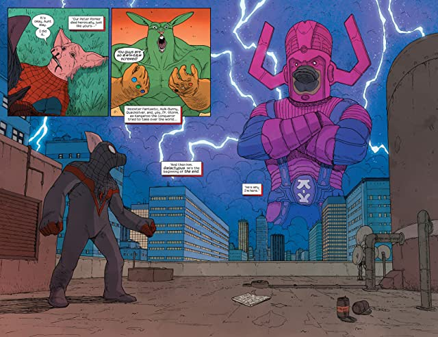 click for super-sized previews of Ultimate FF (2014-) #5
