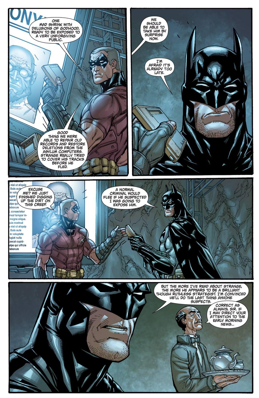 Batman: Arkham City #5 (of 5)