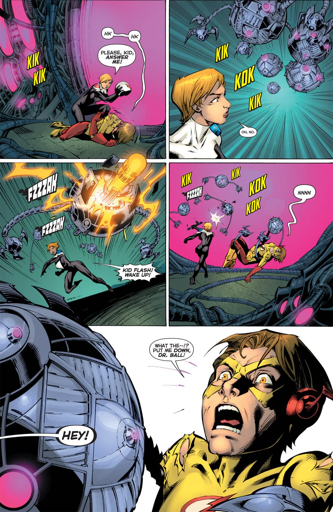 Flashpoint: Kid Flash Lost #2 (of 3)