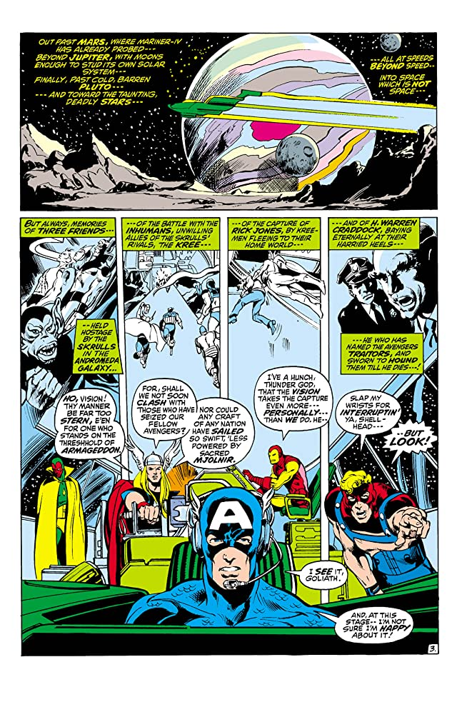 click for super-sized previews of Avengers (1963-1996) #96