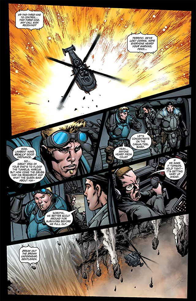 click for super-sized previews of Gears of War #19