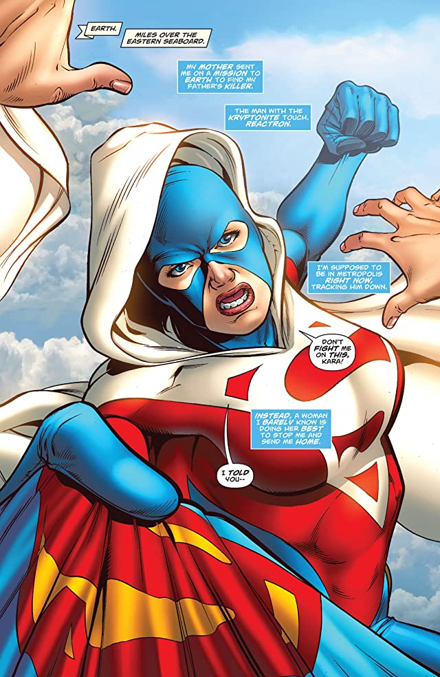 click for super-sized previews of Supergirl (2005-2011) #38