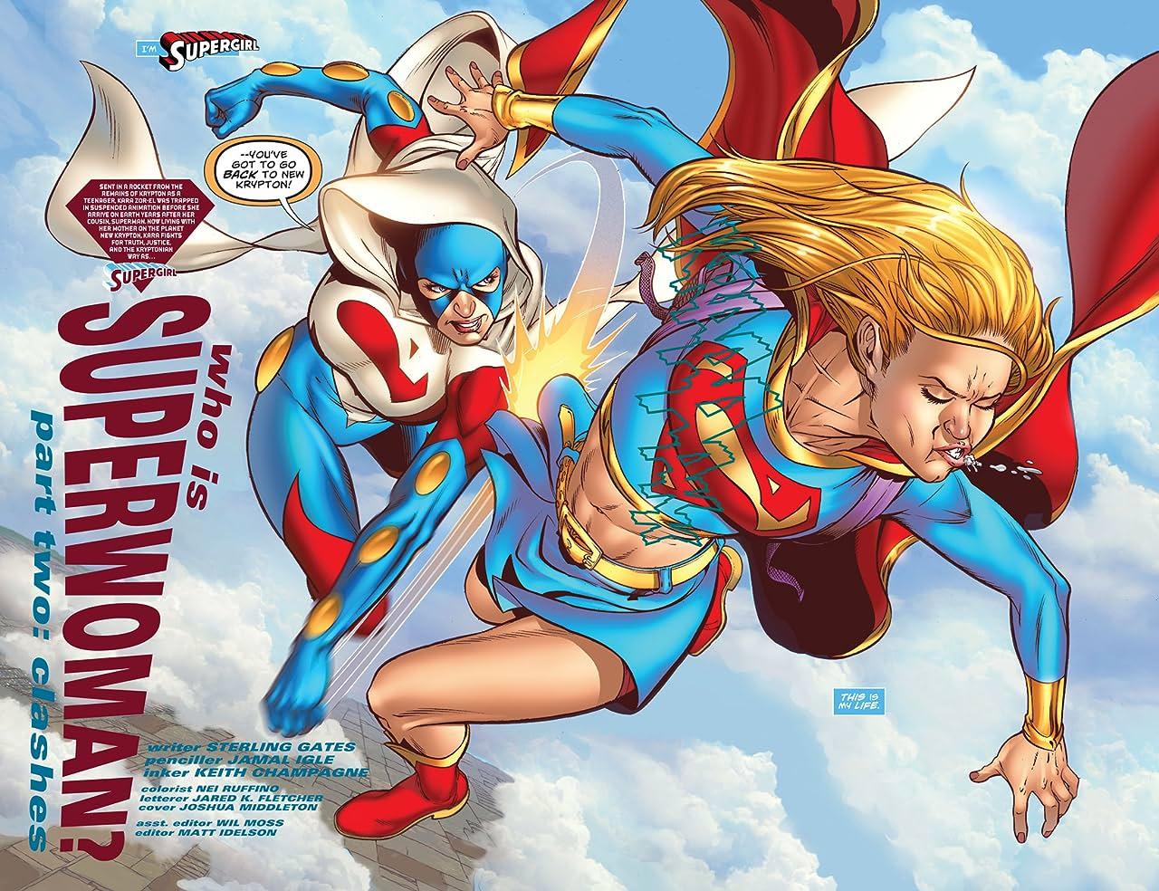 Supergirl (2005-2011) #38