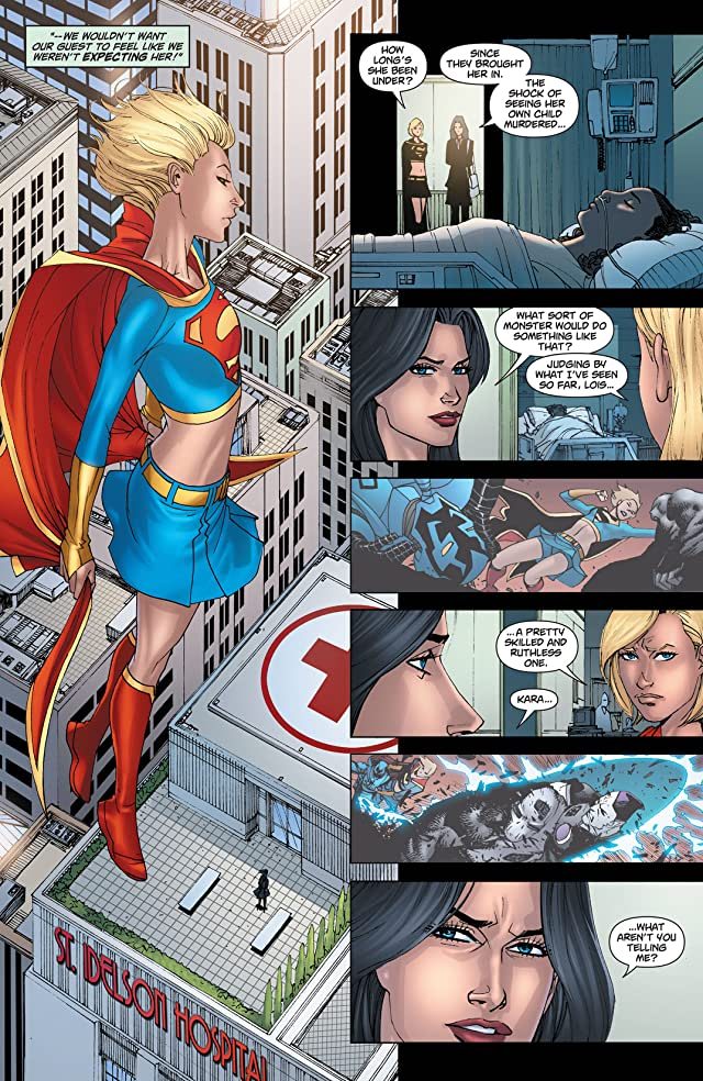 click for super-sized previews of Supergirl (2005-2011) #62
