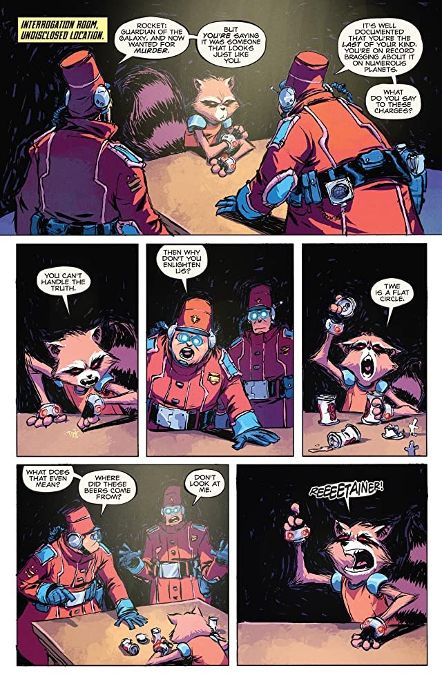 click for super-sized previews of Rocket Raccoon (2014-) #2