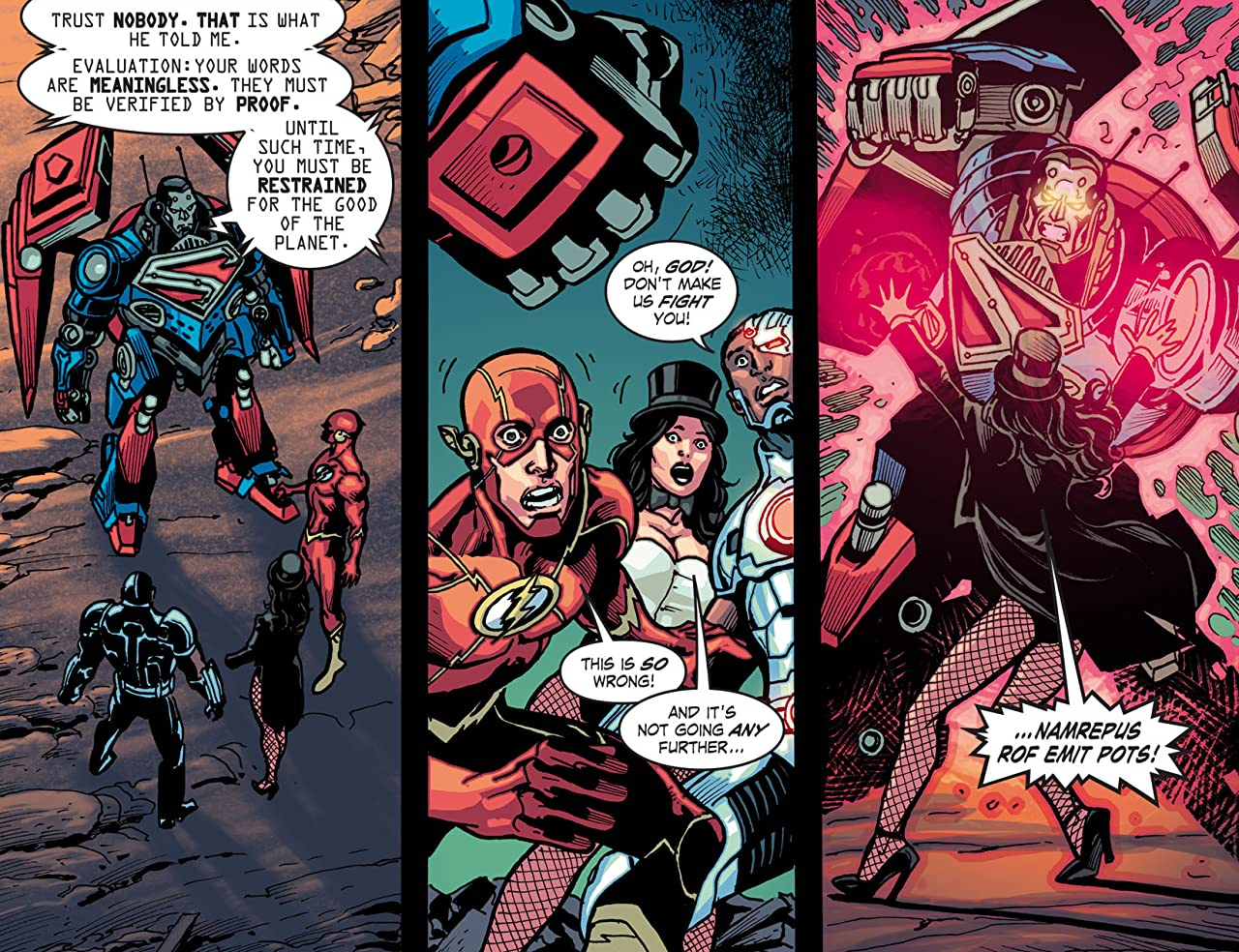 Infinite Crisis: Fight for the Multiverse (2014-2015) #11