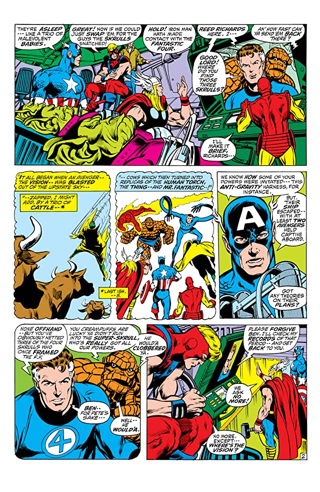click for super-sized previews of Avengers (1963-1996) #94
