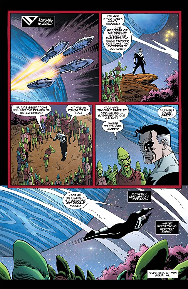 click for super-sized previews of Superman Beyond (2012-2013) #0