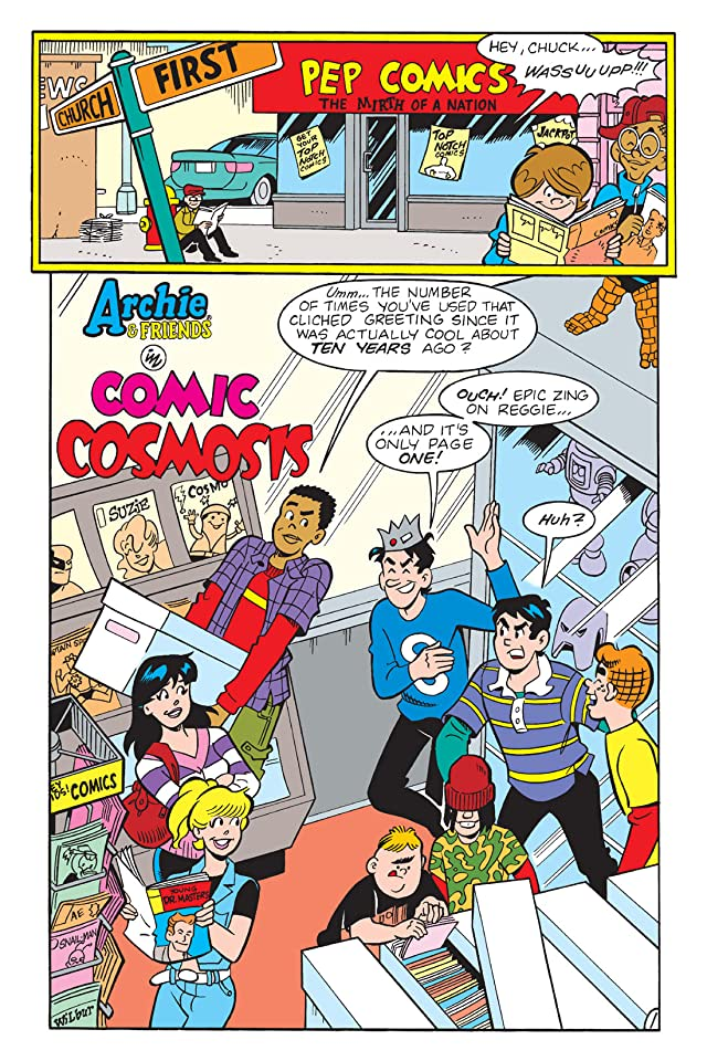 click for super-sized previews of Archie & Friends: Night at the Comic Shop