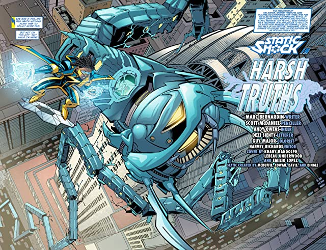 click for super-sized previews of Static Shock (2011-2012) #8