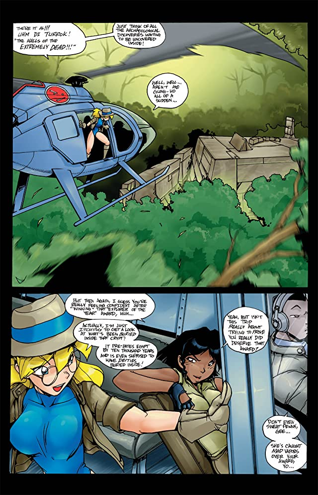 click for super-sized previews of Gold Digger #8