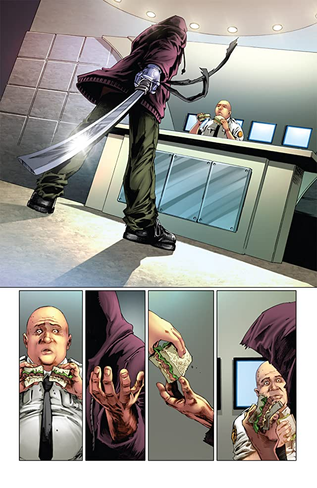click for super-sized previews of The Bionic Man #1