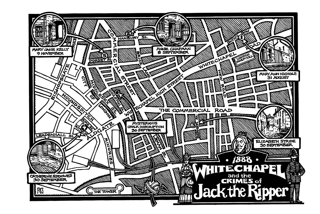 A Treasury of Victorian Murder: Jack the Ripper