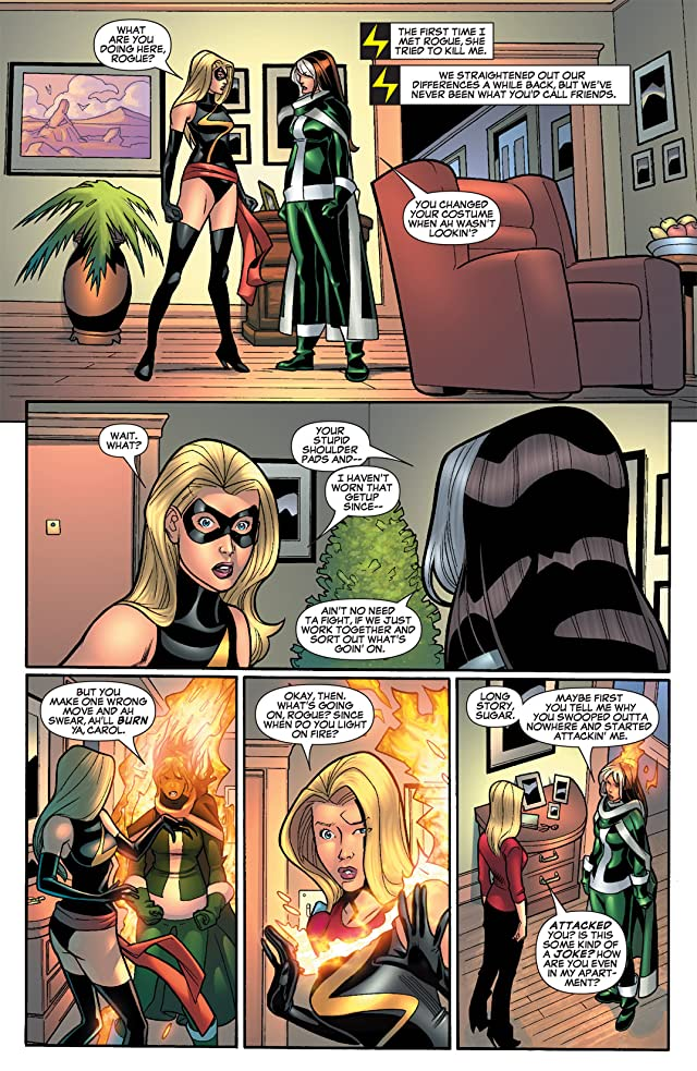 click for super-sized previews of Ms. Marvel (2006-2010) #9